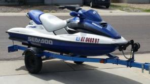 Matching set or solo top of the line Blue SeaDoo GTX Millenium Edition